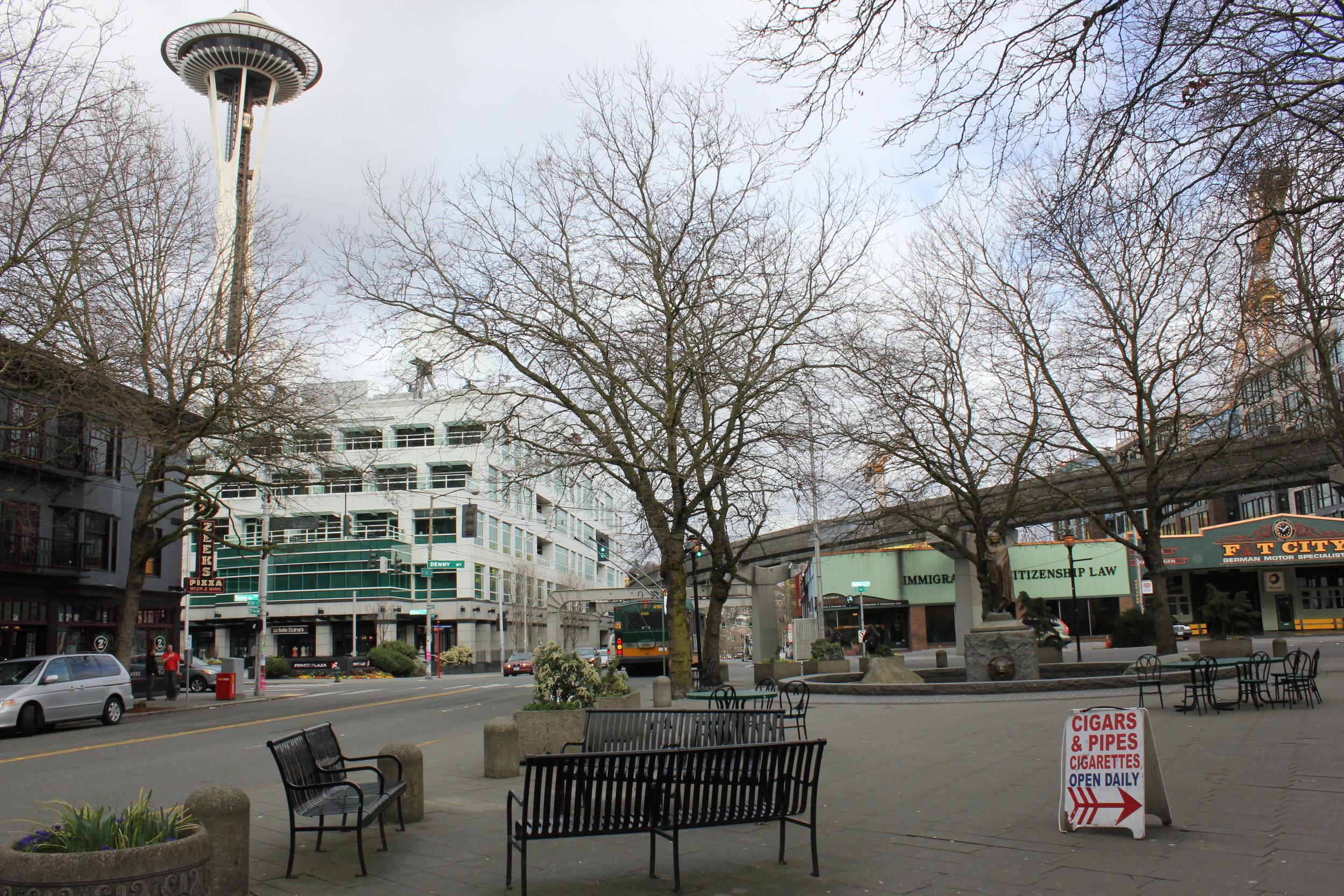Tilikum Place Seattle by drawntocities.com