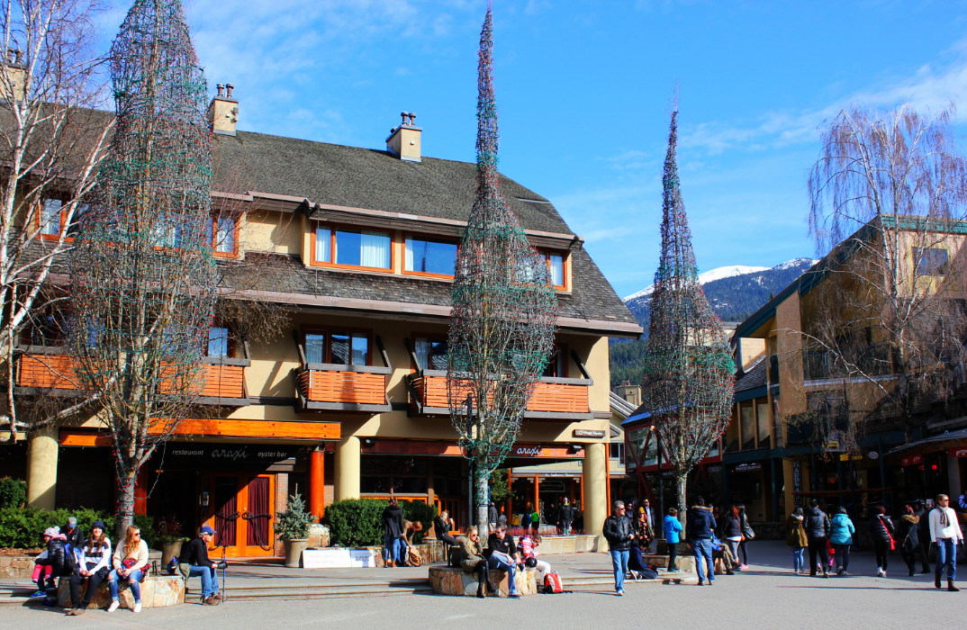 Whistler Village by Drawntocities.com