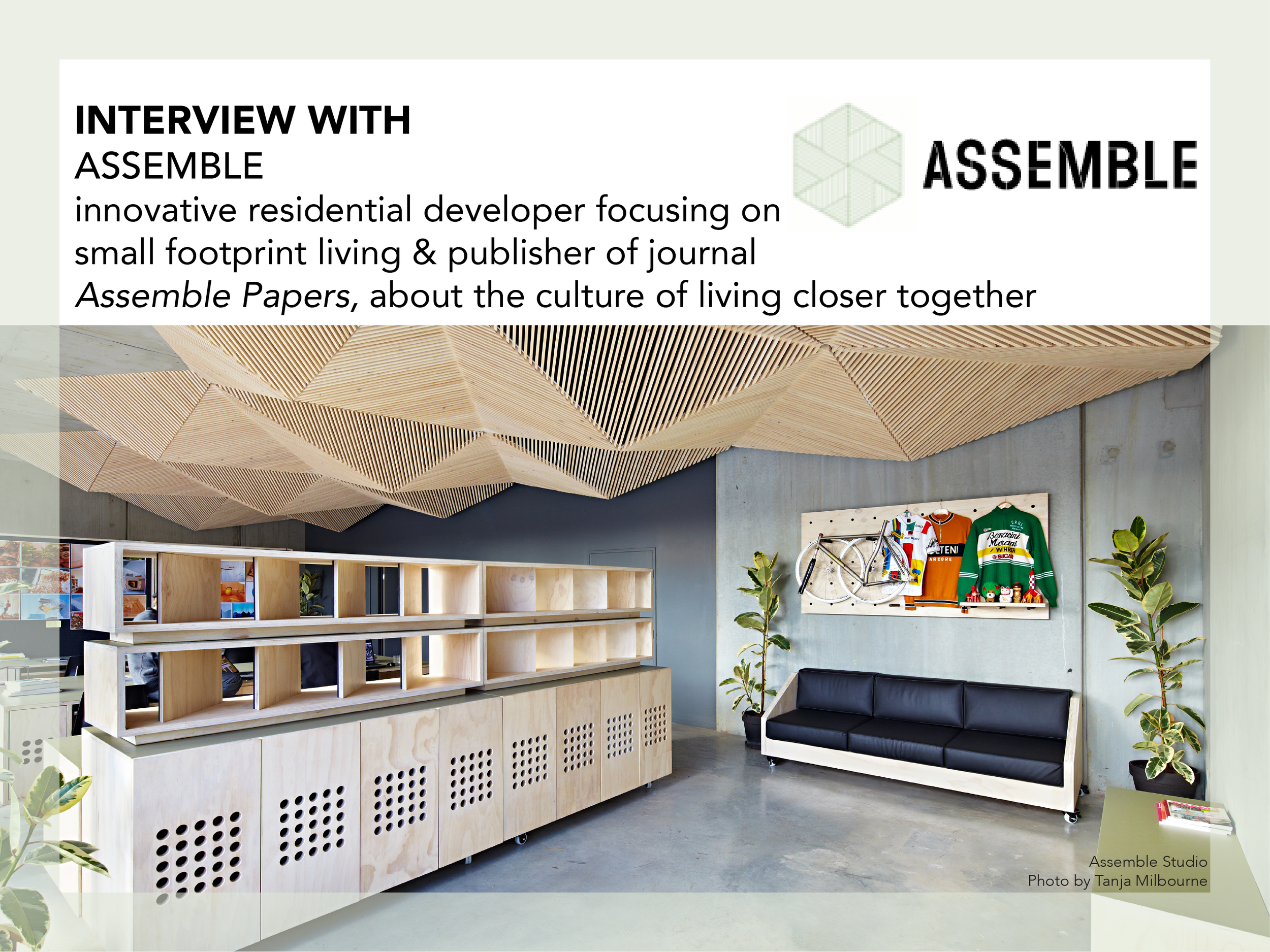 Assemble Interview by Drawntocities.com