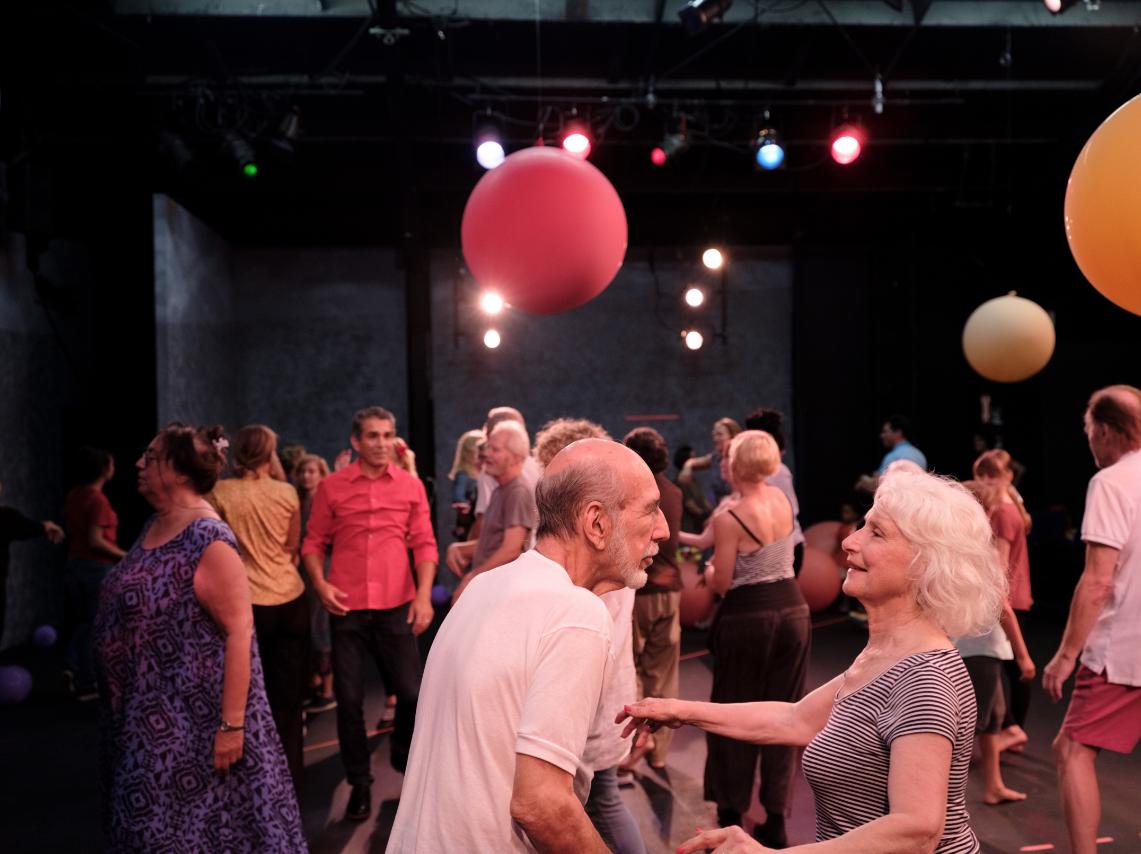 JUST IN TIME - Cllecting favorite dances in Berlin, Tel Aviv, New York, Düsseldorf, Los Angeles, Brussels,Singapore,and now… Reykjavík!