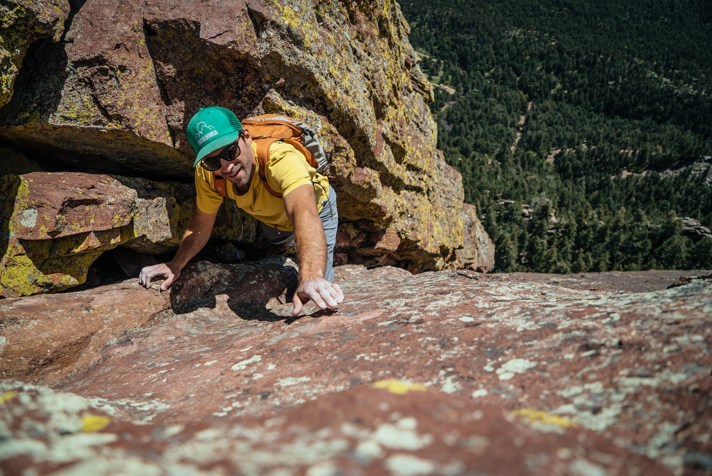 Andy Anderson | First Flatiron | Boulder, CO
