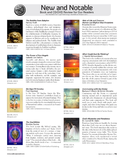 """The Buddha from Babylon"" is a top selection of New and Notable books featured in Sedona Journal"