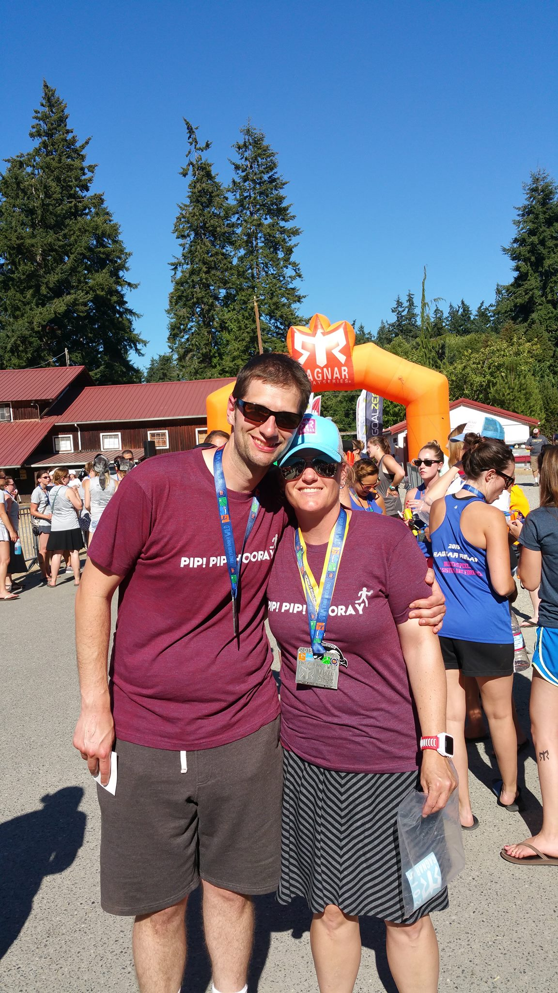 Me and Mikey at the finish.jpg