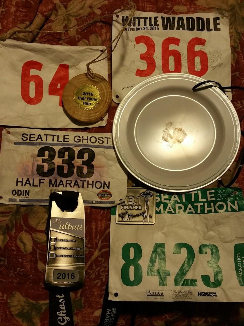 Seattle Quadzuki medals minus the final medal for the whole Quadzuki
