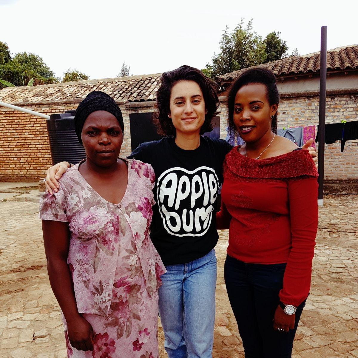 Natasa in Rwanda