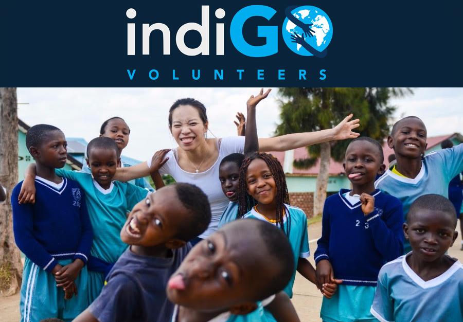 Indigo Volunteers at Urukundo Children's Home, Rwanda