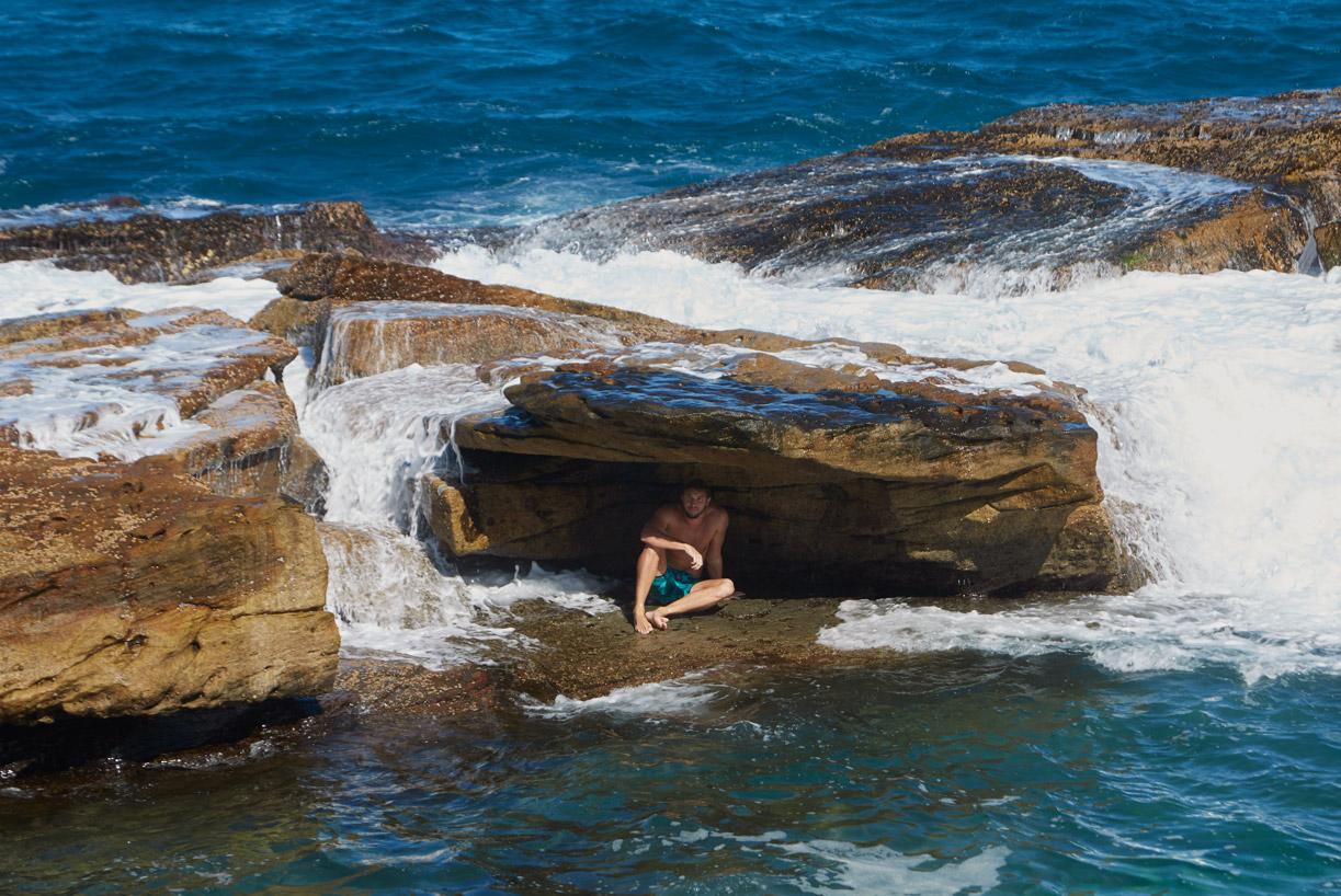Coogee baths, Sydney Australia   63 x 90  cm, edition of 7 + 2AP -  Last rays of sun 04