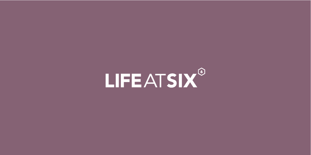 Life At Six logo designed by ThompsonCo