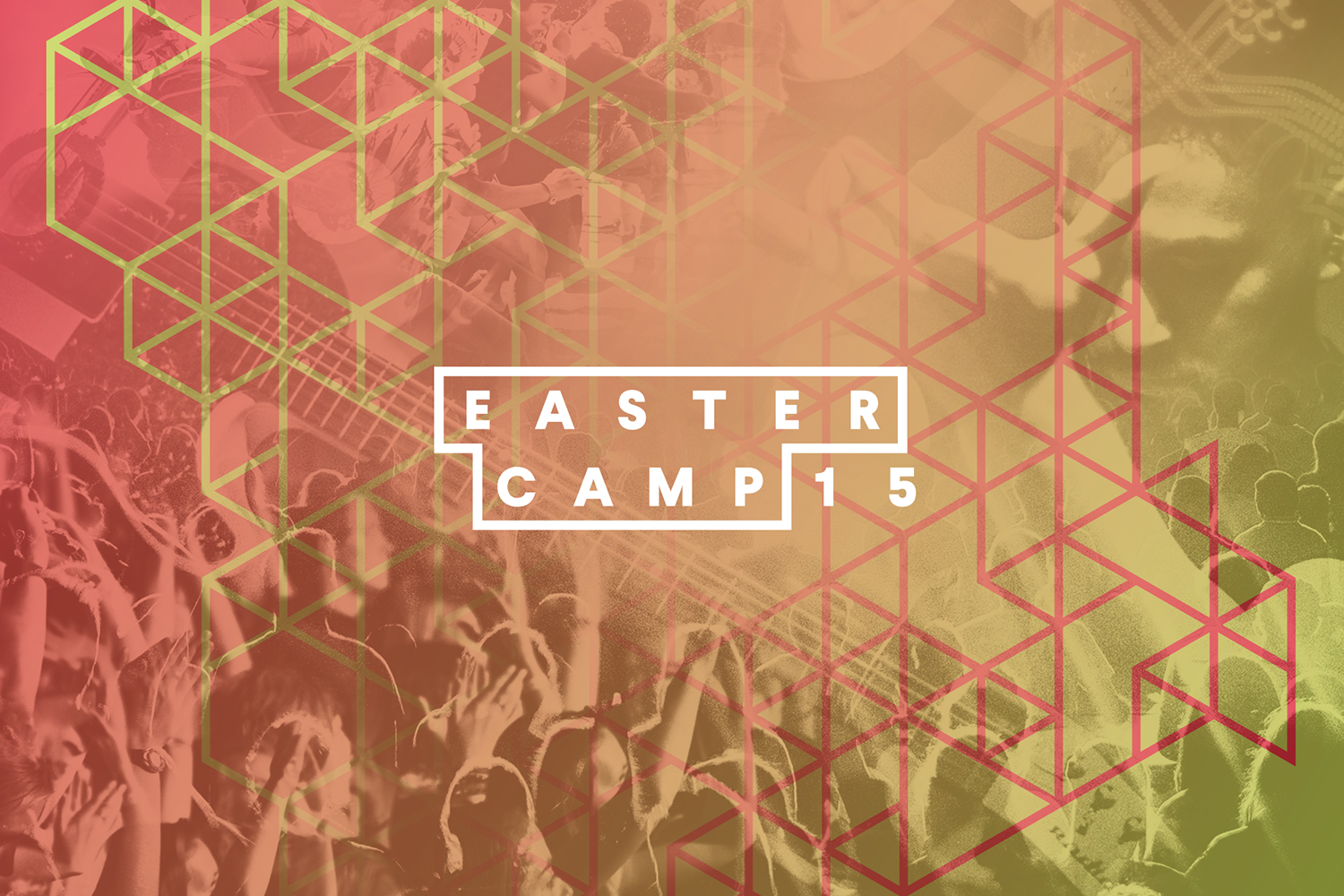 Identity for Eastercamp 2015 designed by ThompsonCo.