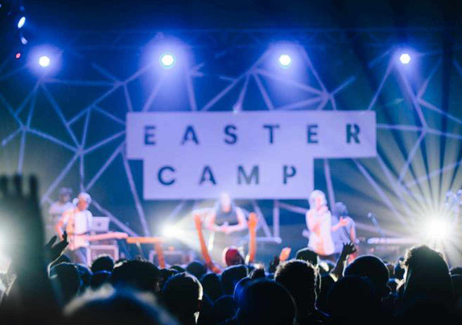 Identity for Eastercamp designed by ThompsonCo.