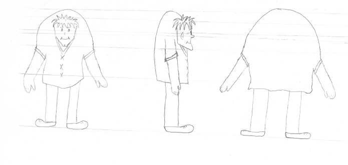First conceptual drawing of Simon
