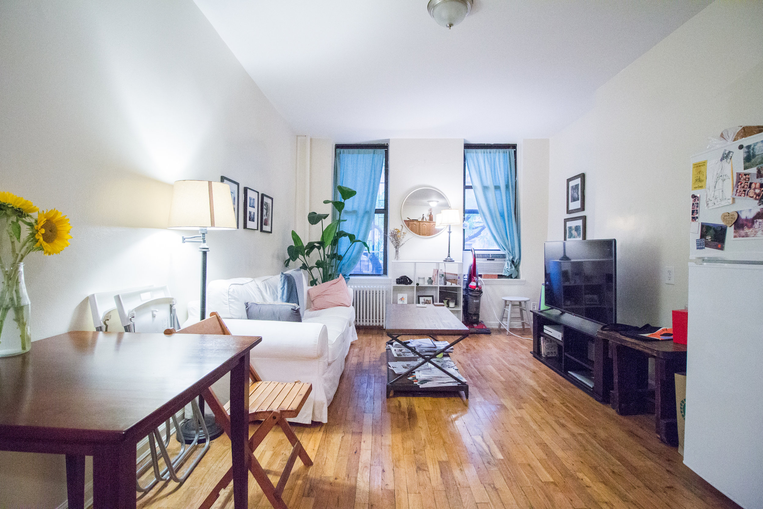 419 W 56th Street #2B - Spectacular Super Large 1 Bedroom with office space in a charming brownstone! Just one flight up, the unit features large living room with open kitchen, large walk-in closets, separate space that can be used as an office, and king size bedroom!Close to Columbus Circle and Central Park! Close to crosstown buses and A, C, B D, E N, R Q trains. Sorry, No pets or smokingRent: $2,495 /monthTerms: 12 - 12 MonthsAvailable: October