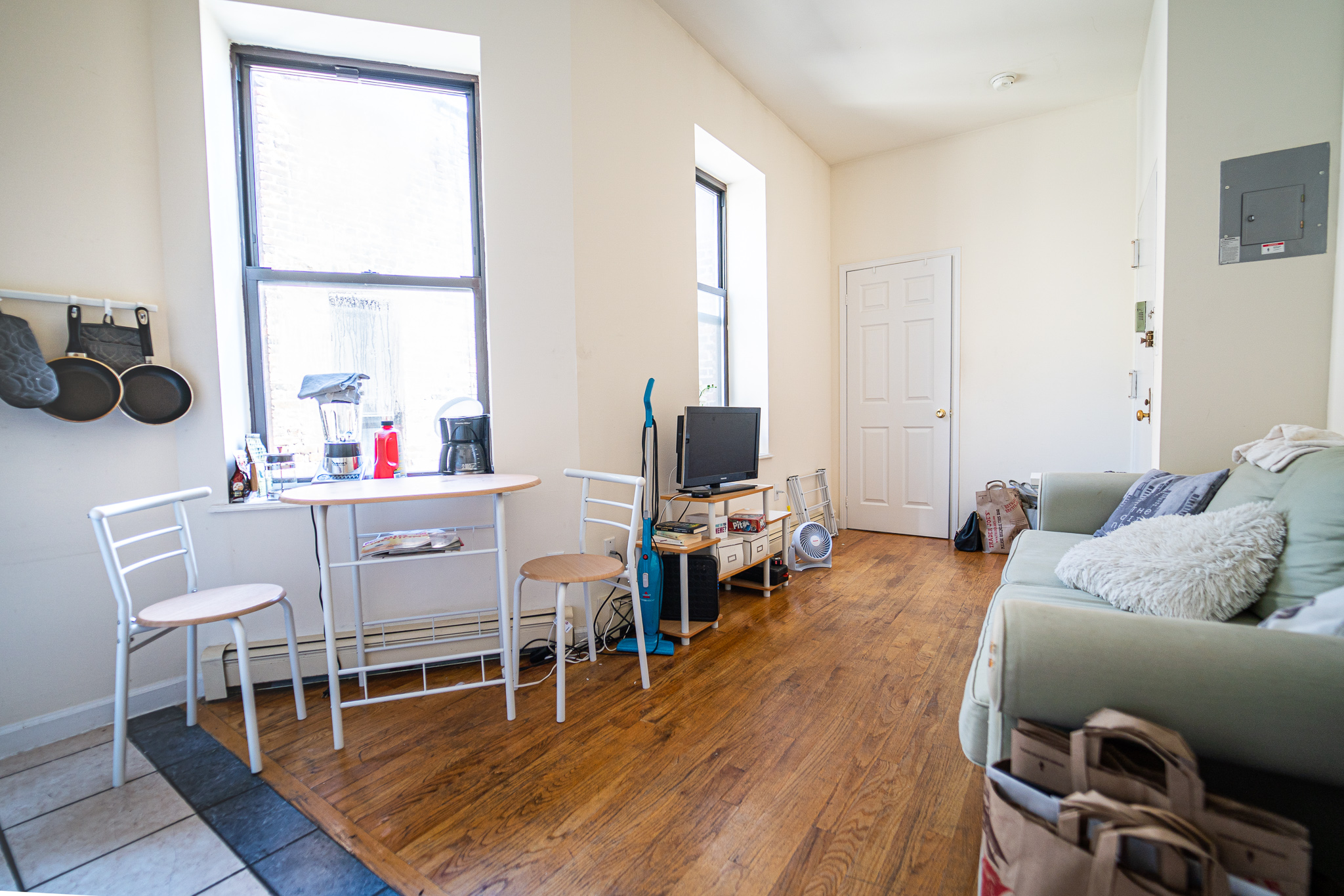 200 E 7 Street #6B - Sunny Two Bedroom in East Village! Enjoy the open kitchen that opens up to sunny living room, renovated bathroom and two separate bedrooms that can accommodate queen size bed. Located on a top floor of a walk up building, with laundry, on a tree line street in East Village, steps away from major restaurants, stores, entertainment, parks and several subway lines. Rent: $2,795 /monthTerms: 12 - 12 MonthsAvailable: August 7th, 2019
