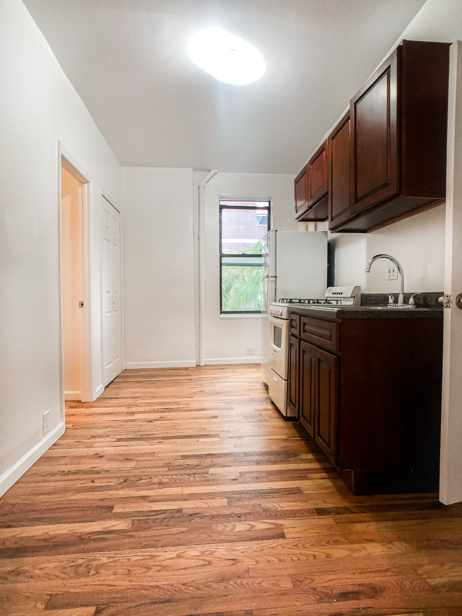- Renovated TWO Winged Bedroom in East Village!Sunny winged two bedroom home offers separate kitchen, windowed bathroom and spacious bedrooms. Located in a walk up building in east village. Close to public transportation, cafes and shopping.Rent: $2,500 /monthTerms: 12 - 12 MonthsAvailable: Immediate