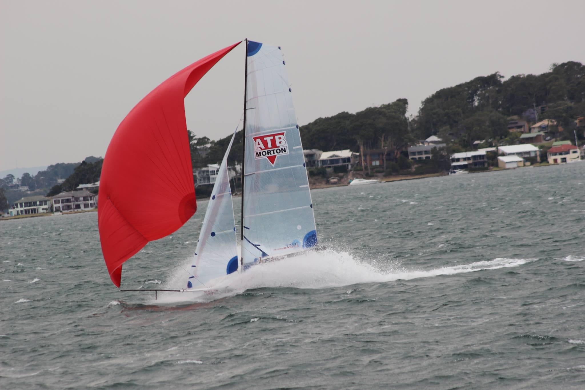 ATB 16ft Skiff Sailing