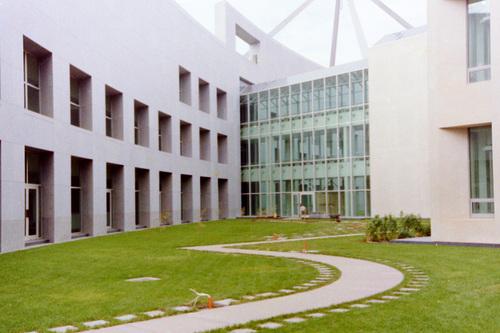 Parliament House Senator's Courtyard