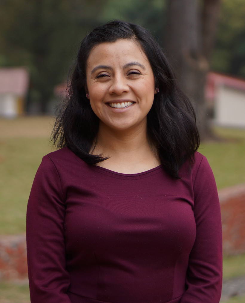 """Nidia P. - Women's Ministry Director/Operations   """"I came to the Ministry with the desire to show the Love of Jesus with my actions, my greatest longing is to form exemplary mothers, motivating them to discover their skills and talents that by nature God has placed in them""""."""