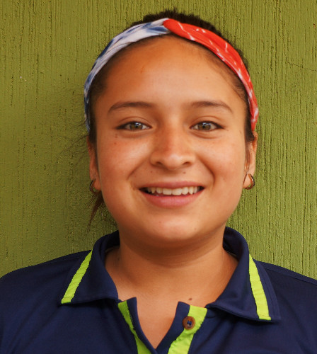 Kimberly Rivera:  Le gusta bailar, le gusta escuchar música, cuando sea grande quiere ser maestra de niños pequeños