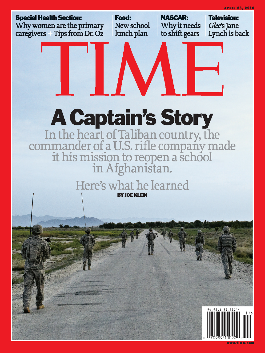 'A Captain's Story' for  Time Magazine , 2010
