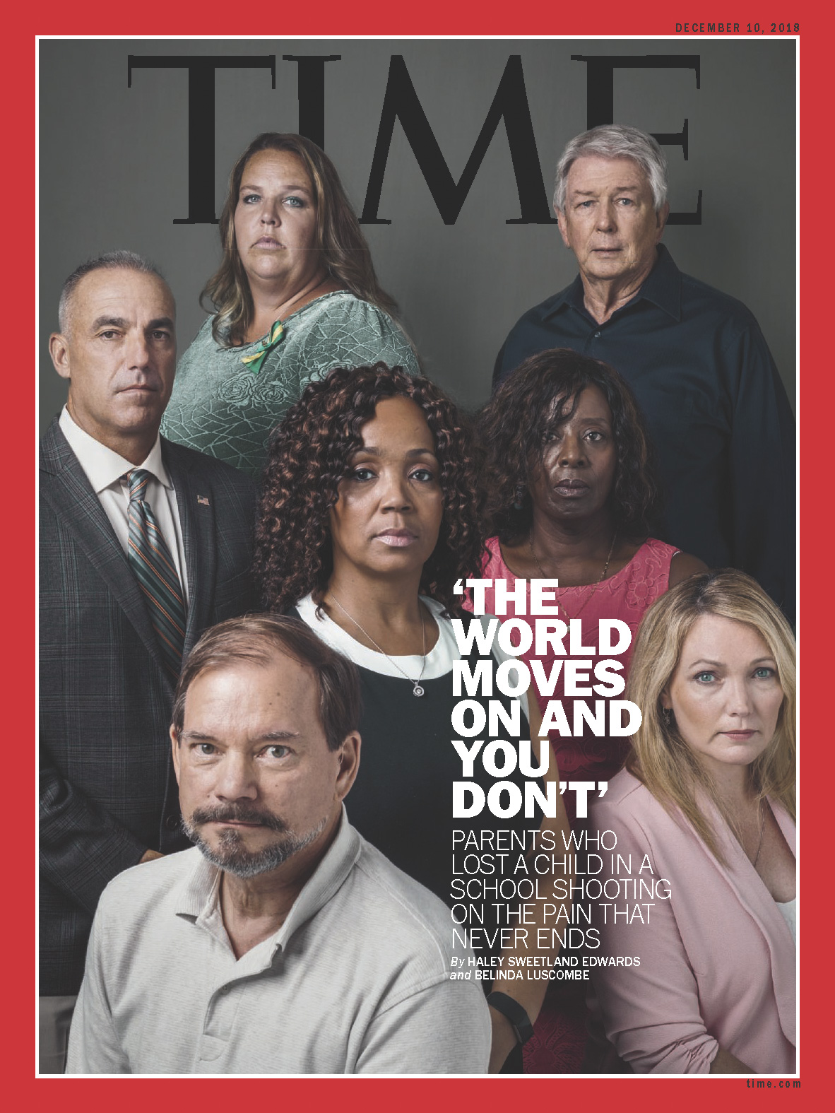 'The World Moves On And You Don't' for  Time Magazine , 2018