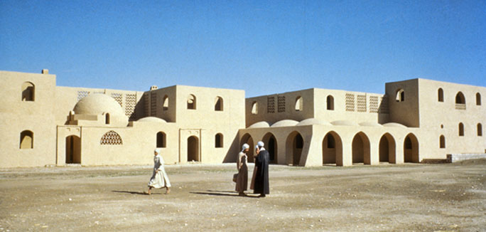 New Gourna by Hassan Fathy - 1945-1948. Photo UNESCO