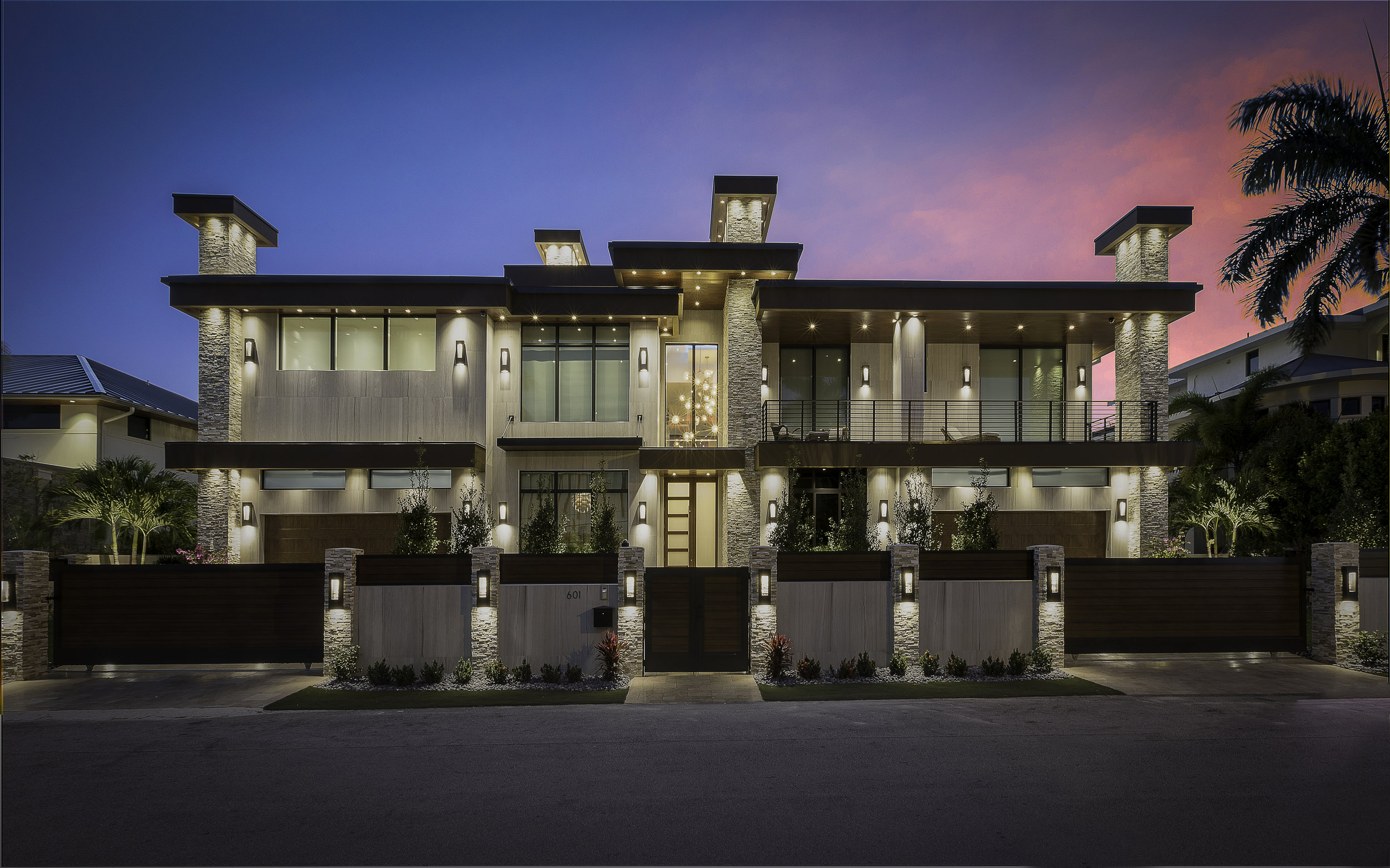 601 Royal Plaza Drive - Completed Project, brand new modern construction, 12,000 sq. ft, oversized lot