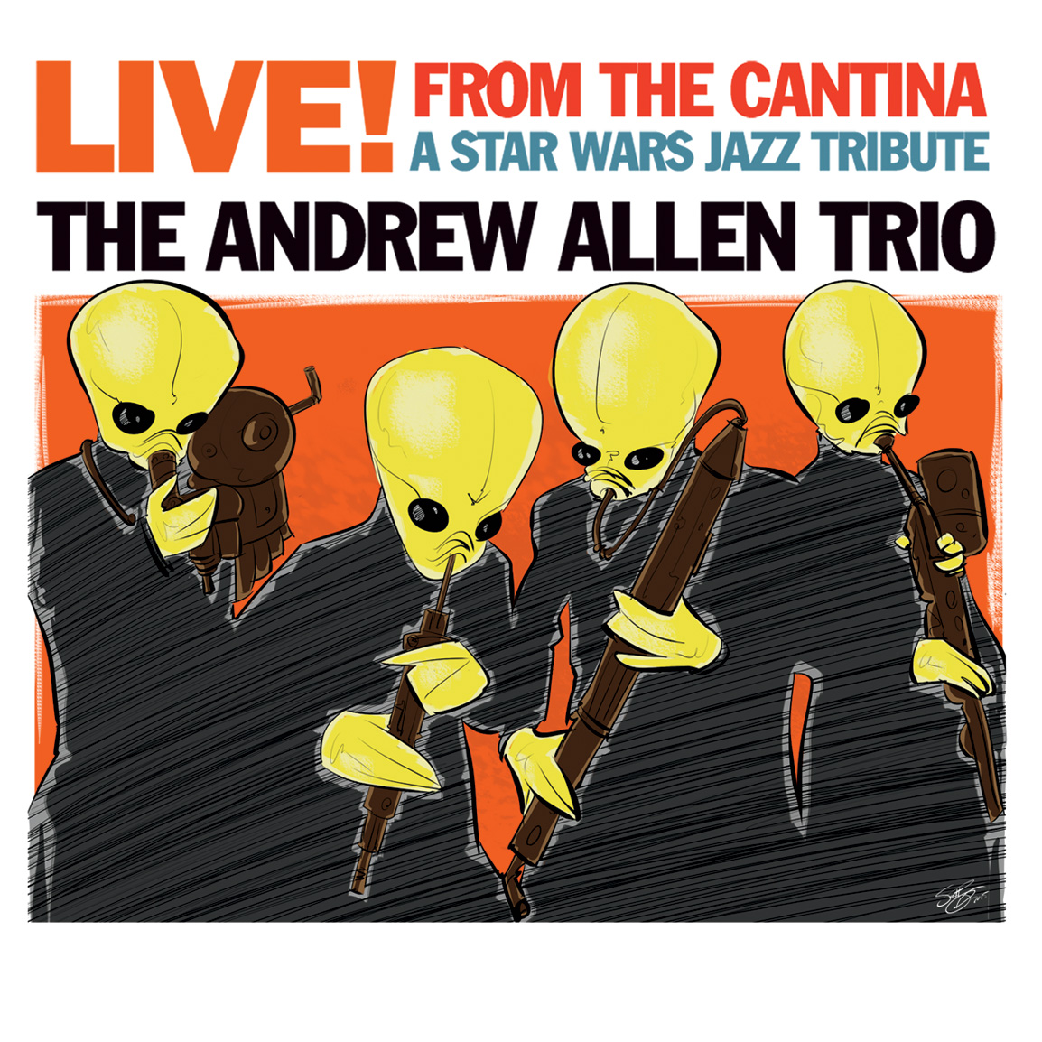 Live! From The Cantina: A Star Wars Jazz Tribute (2015)