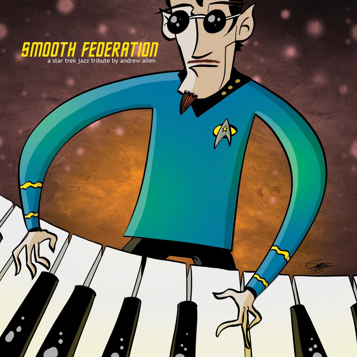 Smooth Federation: A Star Trek Jazz Tribute (2012)