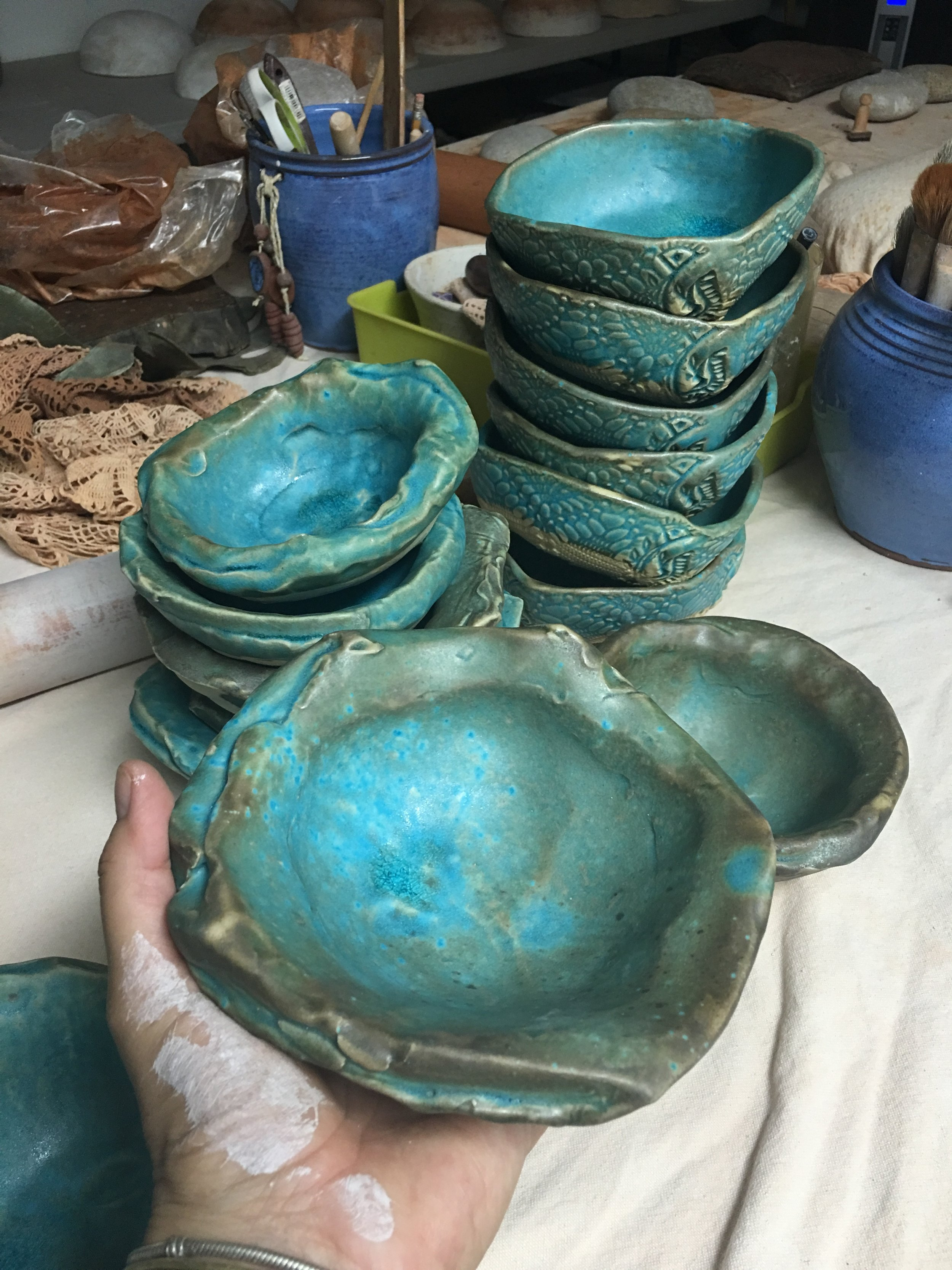 New Oyster bowls
