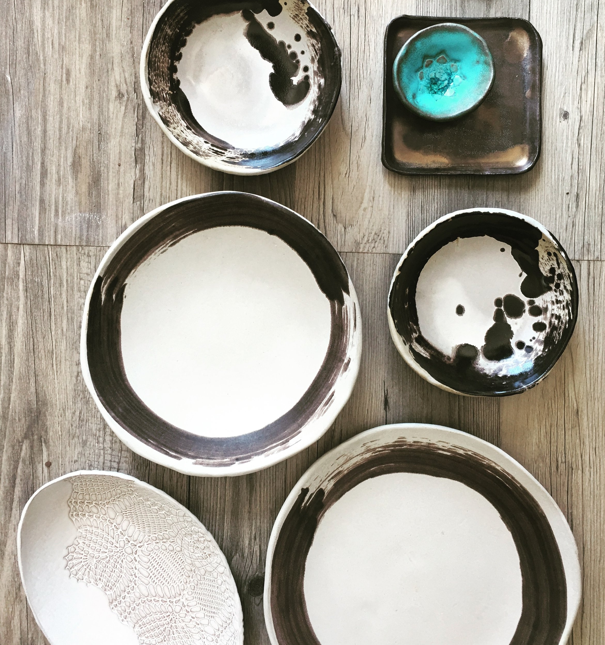 Zen plates for a chef from Phoenix