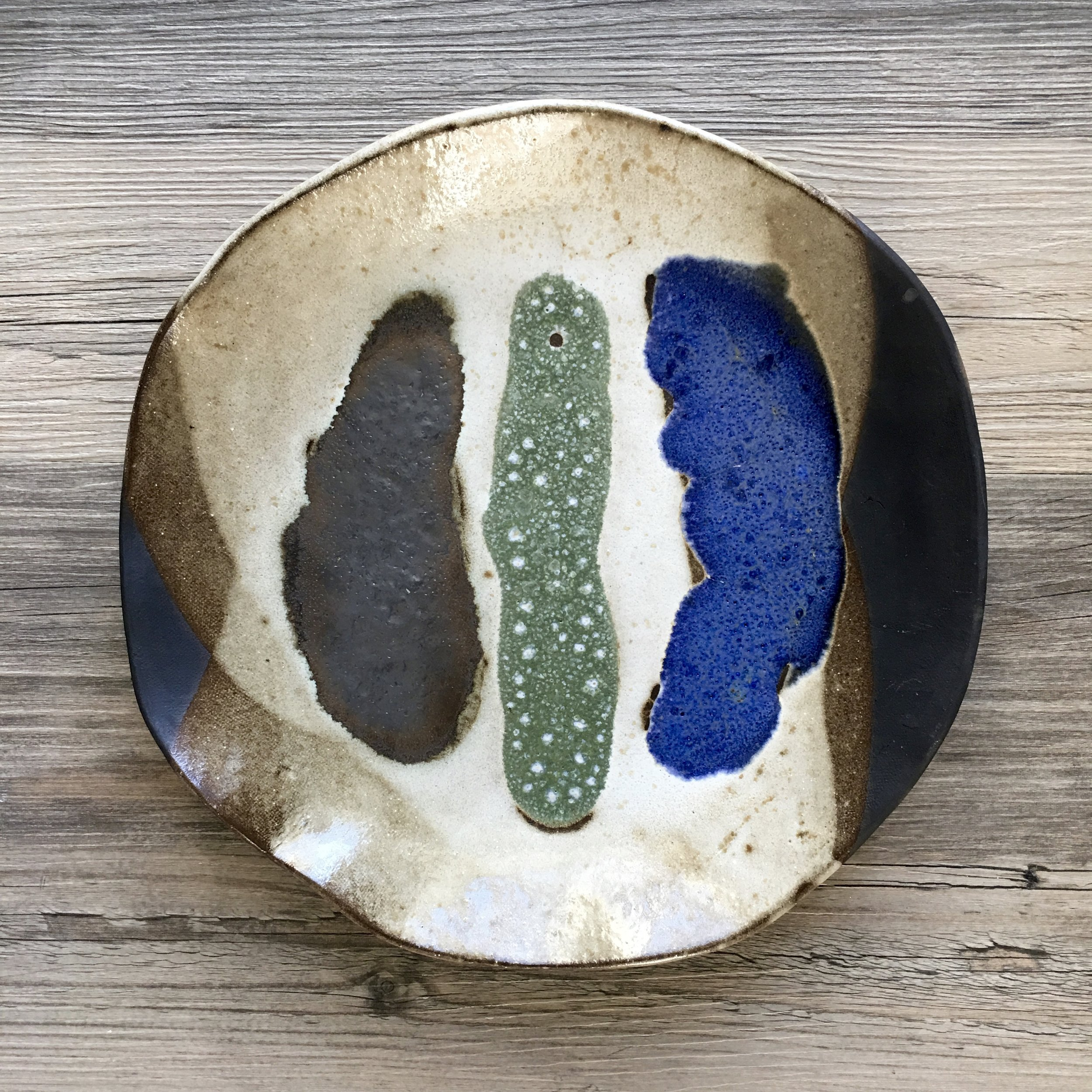 Decoration Ceramic Plate Wall Decor Collection Blue Door Ceramics