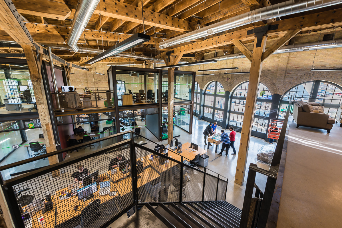 The finished product: London's most beautiful office space