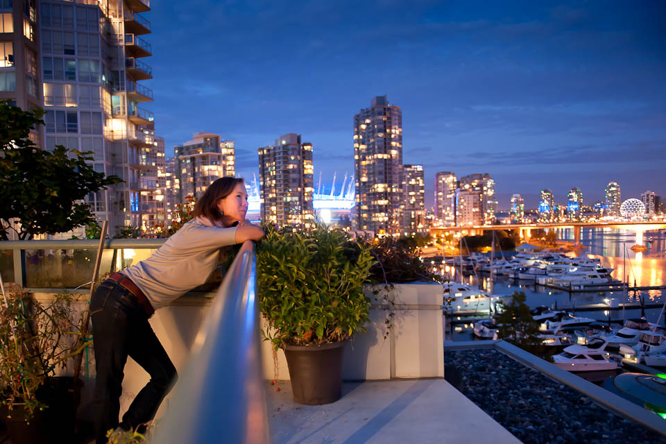 Overlooking False Creek - one of my favorite images of the week