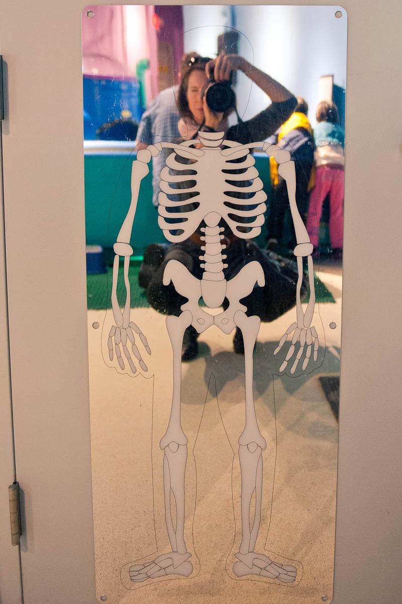 Skeletal selfie