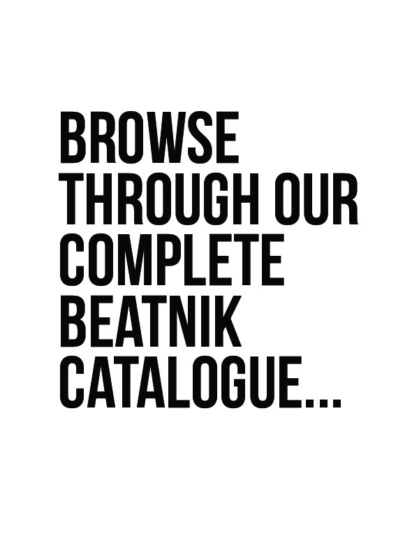 the beatnik titles: