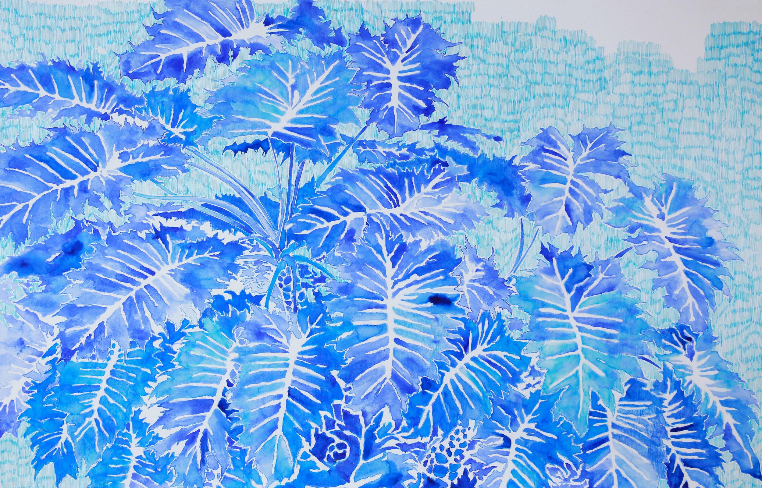 untitled (in blues II)