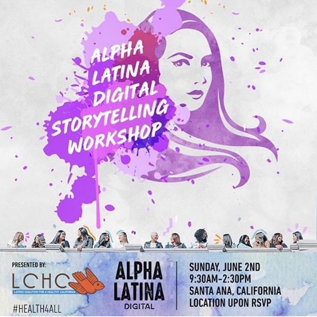 Excited that @borninjunecreative was invited to facilitate two hands on workshops on digital story telling with @theluzcollective presented by @lchc_ca  this Sunday in Santa Ana! Go to @theluzcollective link in bio to RSVP. .  This is a great workshop for anyone who wants to use social media to create change at an individual or organizational level and is also interested in how we create healthier communities. .  You will come away with knowing how to incorporate you story wi/ @lucyfloresnv and create a message for social and the tools to pair it with impactful visuals c/o @borninjunecreative Creative Director @joshuasandovaldoes . .  Bring your phones/laptops. Thank you again @lucyfloresnv for thinking of us. #DigitalStoryTellers #socialforgood #health4all