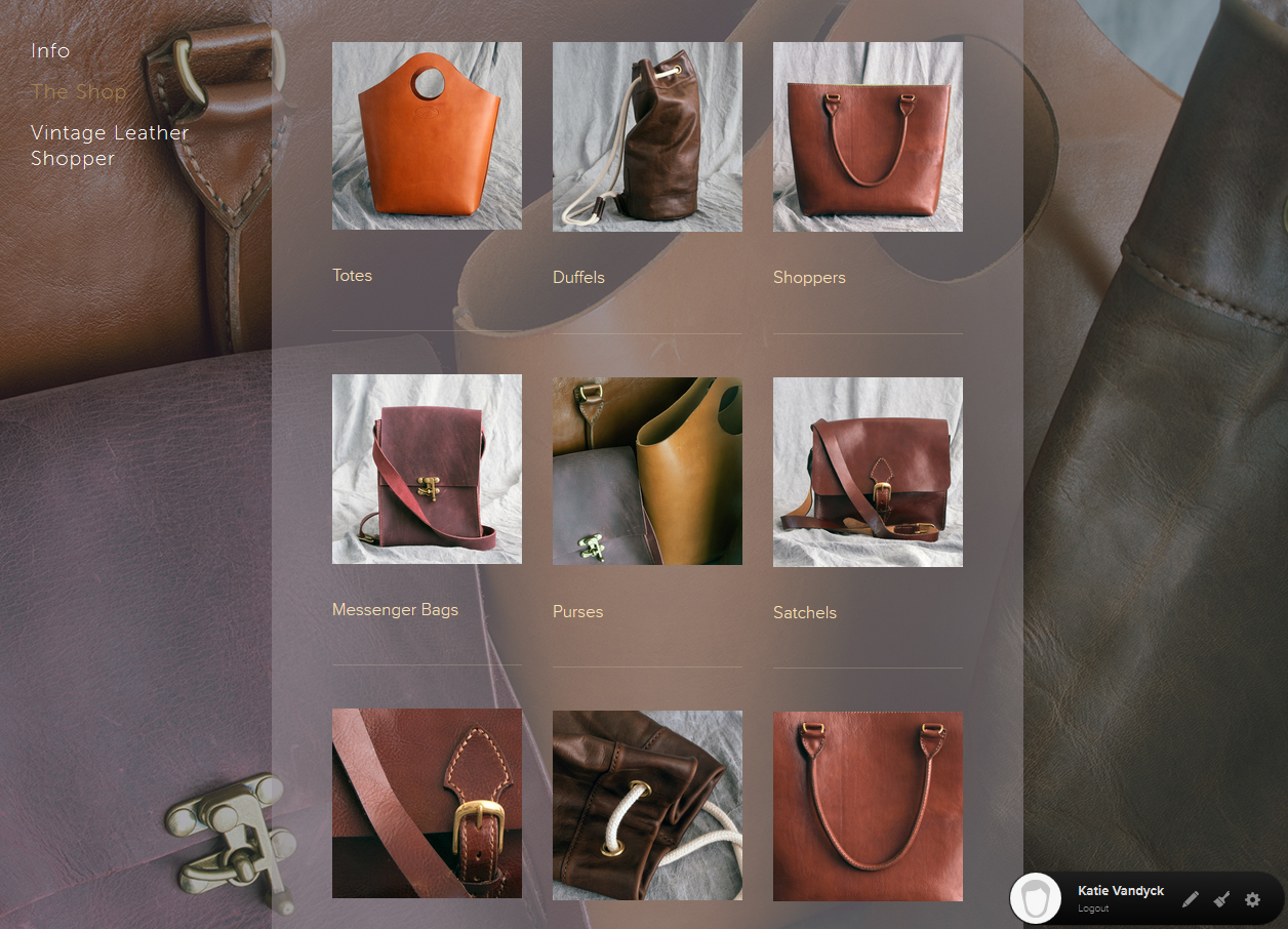 100Designs Leweisan Leathers Site