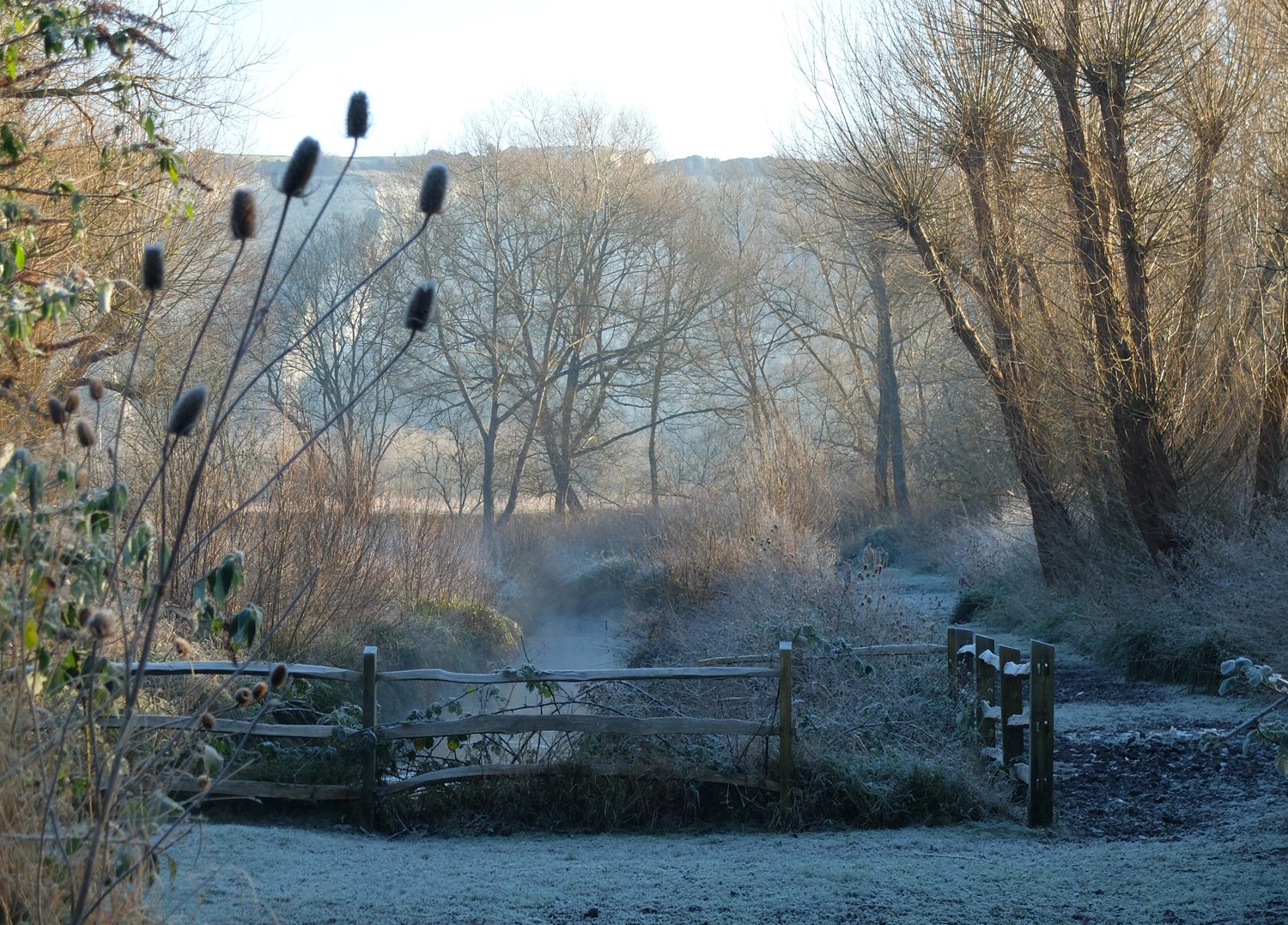 Lewes Railwayland on a frosty day by 100Designs