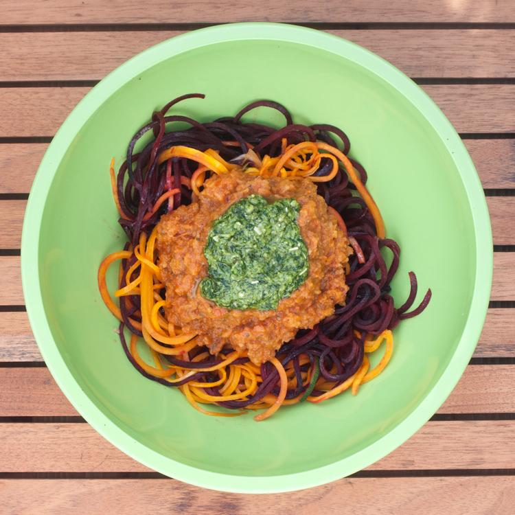 Spiralised Vegetables with Pesto.jpg