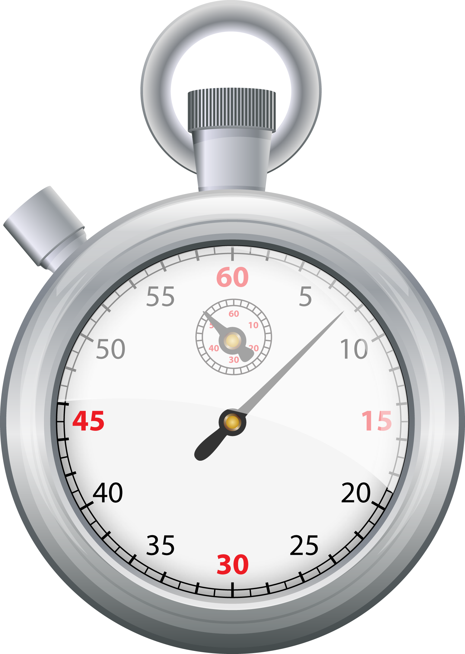 Stopwatch by Duncan Holland on 100Designs website