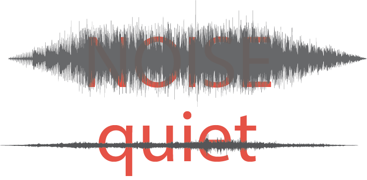 Sound files indicating noise and quiet