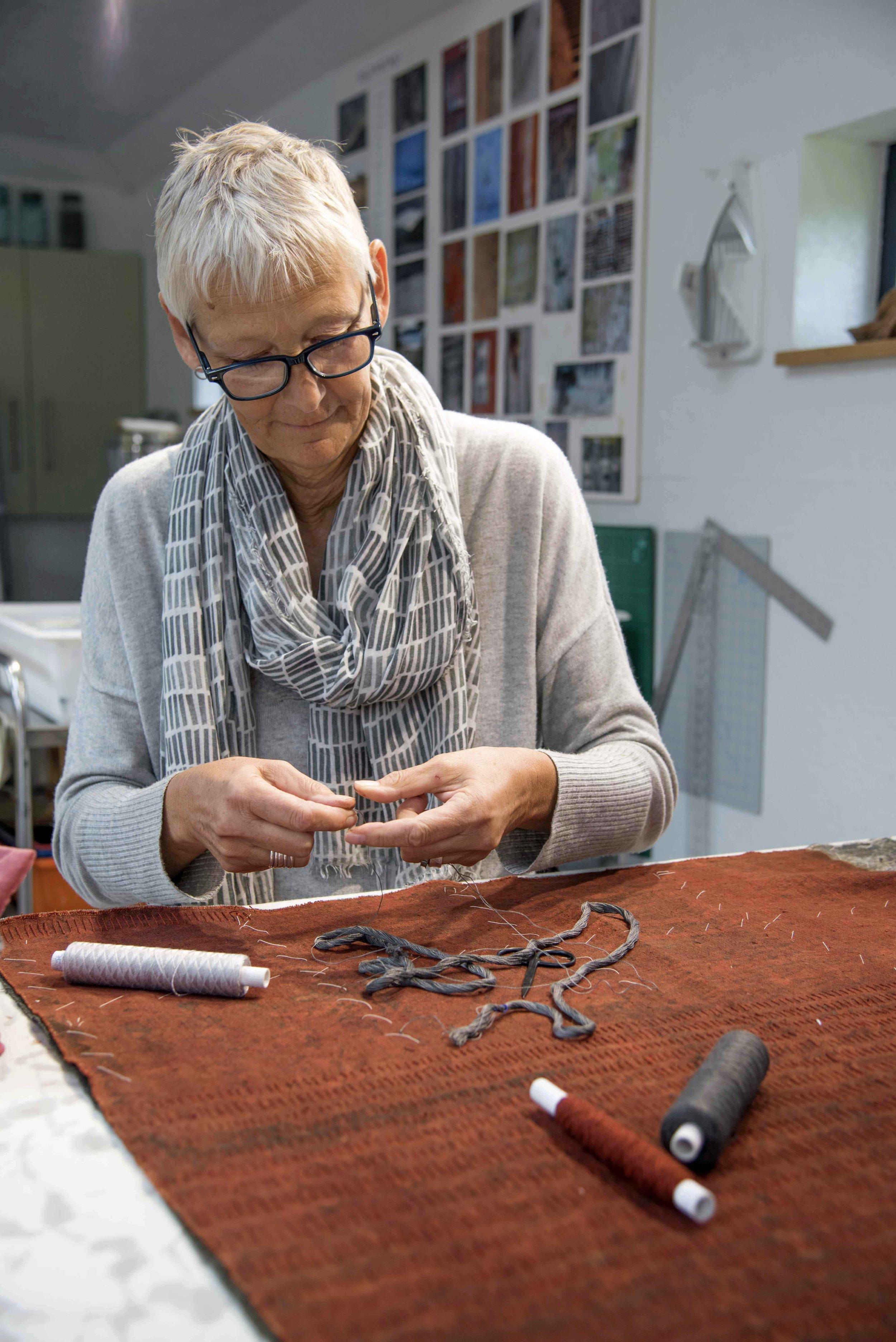 Claire Benn at work