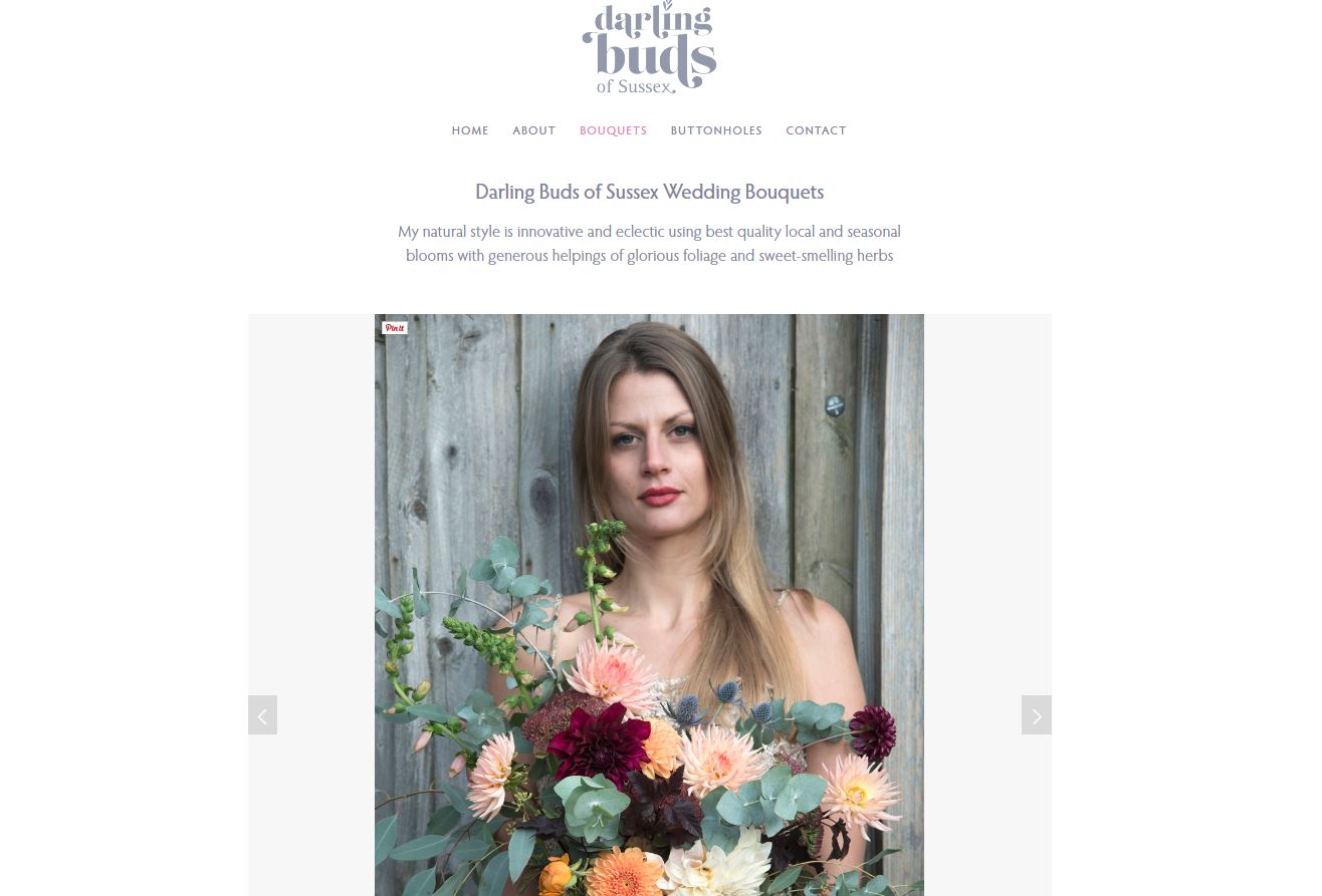 Darling Buds of Sussex Bouquet page.JPG