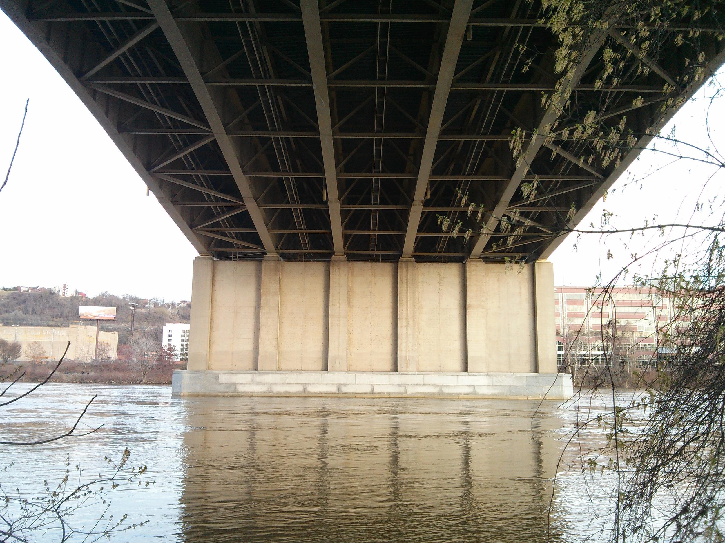 The Veteran's Bridge inPittsburgh, PA, photo bySteve Gurysh