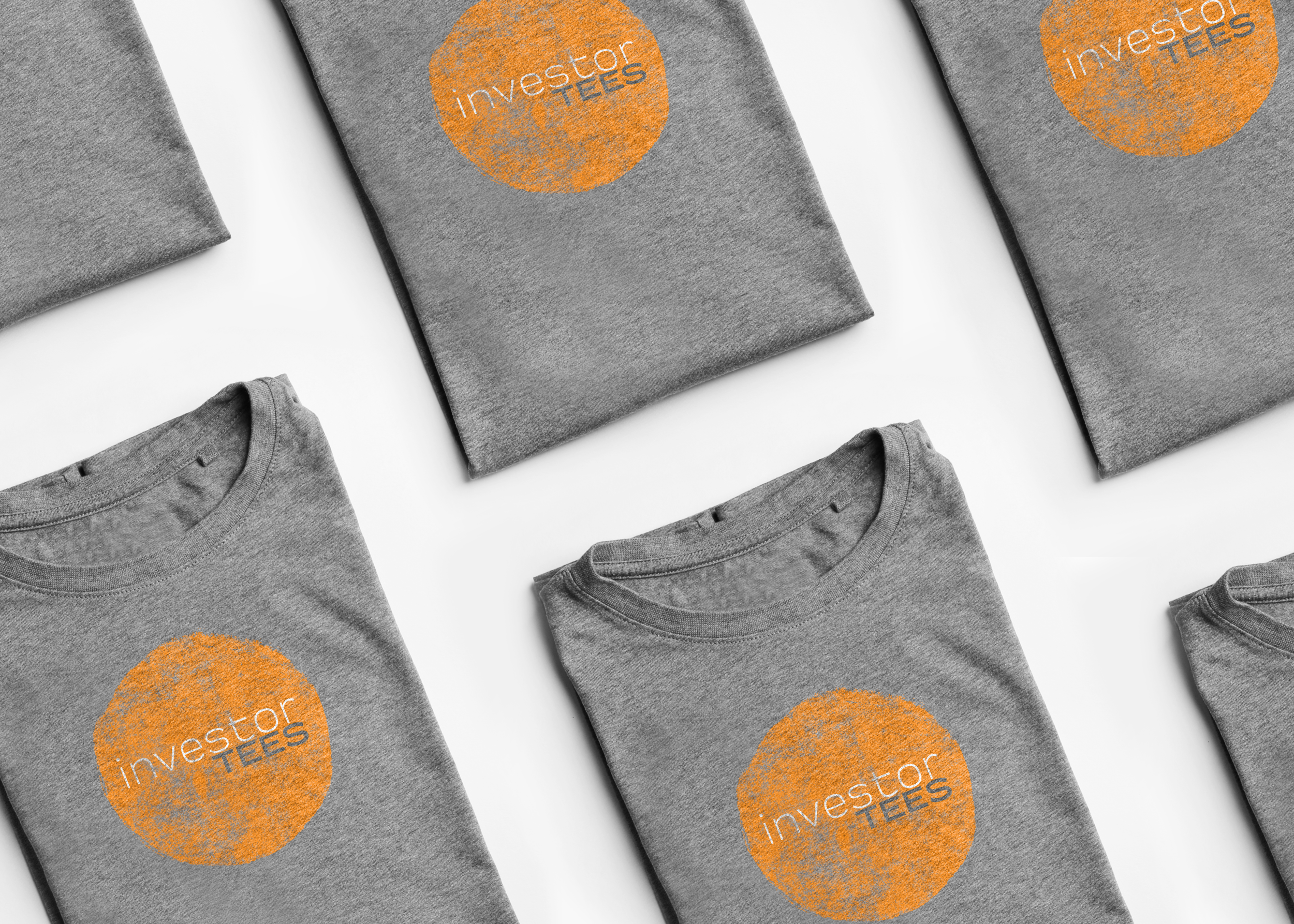 Our store features t-shirts and other merch for investors and traders.