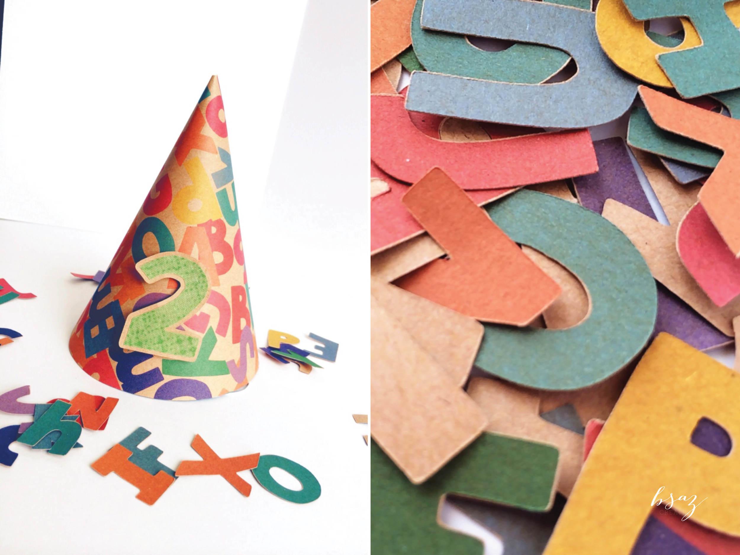 BSAZ CREATES | CHICKA CHICKA BOOM BOOM BIRTHDAY HAT