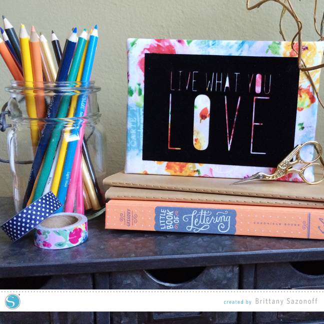 Brittany Sazonoff Canvas Tutorial for Silhouette America