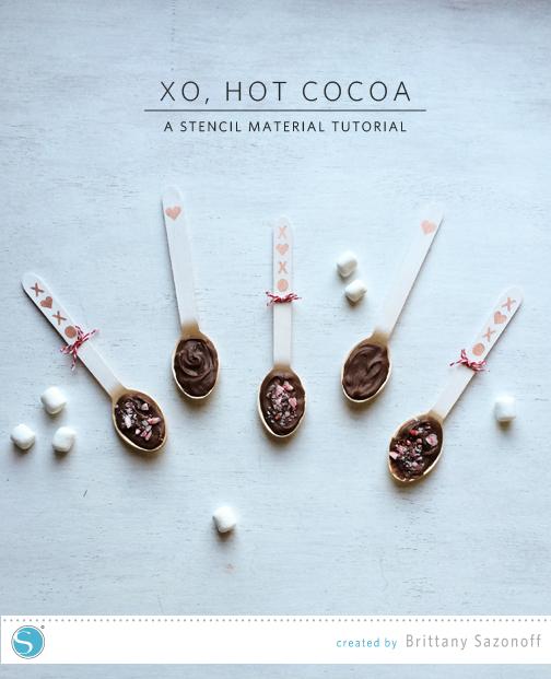 Xo Hot Cocoa - Brittany Sazonoff (BSaz Creates) for Silhouette America