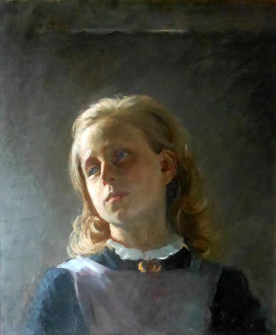 Hilma af Klint, utan titel, 1894, 55 x 47 cm, olja på duk